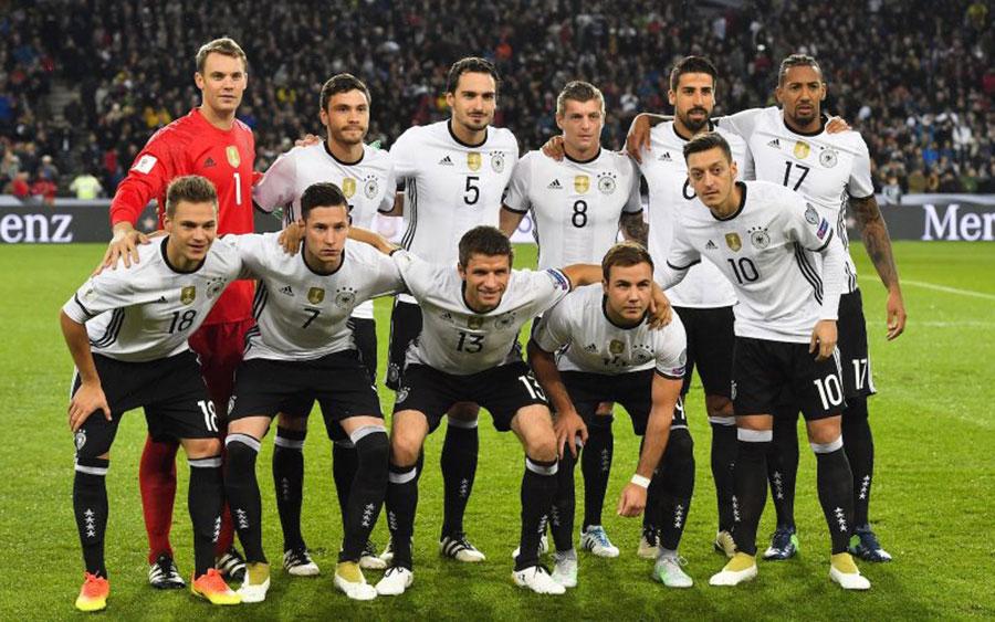 Футболист немецкой сборной